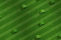 Картинка зеленый, изгибы, ленты