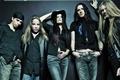Картинка шляпа, Marco, Jukka, Tuomas, Erno, Tarja, девушка, Nightwish