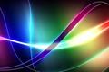 Картинка луч, кривая, лента, свет, линии, цвет, полоса, дуга, изгиб