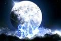 Картинка Мир, луна, небо
