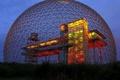 Картинка огни, Монреаль, шар, конструкция, биосферный музей, Канада