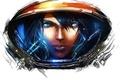 Картинка девушка, игры, арт, белый фон, starcraft, starcraft 2, starcraft II