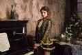 Картинка модель, Foxy Salt, пианино, ноты, девушка, костюм