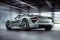 Картинка Spyder, автомобиль, 918, задок, красивый, Porsche, концепт, Concept