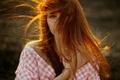 Картинка прелесть, рыжеволосая, солнечный свет, Анастасия, natural light, Настя