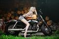 Картинка девушка, Харлей, мотоцикл, Harley Davidson, байк, photo, Maxim Gurtovoy