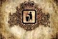 Картинка Узор, пятна, знак, корона