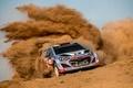 Картинка Dani Sordo, WRC, Rally, i20, Пыль, Hyundai, Ралли