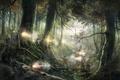 Картинка Empire: total war, лес, бой, оружие, солдаты