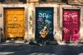 Картинка guitar, musician, doors