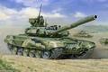 Картинка рисунок, т-90, российский, основной боевой танк, танкисты, Танк