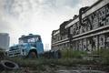 Картинка грузовик, машина, здание, Завод имени Лихачёва, Зил