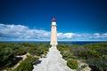 Картинка океан, кусты, побережье, Lighthouse, Kangaroo Island, Австралия, маяк, облака, Australia