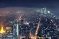 Картинка город, Нью-Йорк, небоскребы, мегаполис, the Empire State Building
