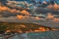 Картинка Peschici, Апулия, Италия, небо, пляж, облака