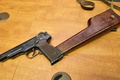 Картинка кобура-приклад, Стечкина, пистолет, АПС, автоматический, 9-мм