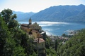 Картинка lago Maggiore, озеро, Italy, Италия, город