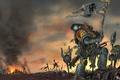 Картинка Warhammer 40000, космические волки, space wolves