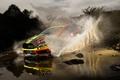 Картинка Ford, Форд, Брызги, WRC, Fiesta, Martin Prokop