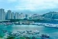 Картинка harbour, Гонконг, city, Hong Kong, гавань