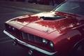 Картинка vintage, muscle car, classic, plymouth, hemi cuda