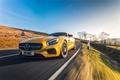 Картинка желтый, Mercedes, мерседес, AMG, амг, UK-spec, 2015, GT S, C190
