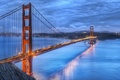 Картинка wallpapers, Сан-Франциско, Golden Gate Bridge, city, Золотой Мост, San Francisco, USA, США