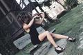 Картинка девушка, скрипка, музыка