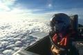 Картинка кабина, полёт, самолет, небо, облака, пилот