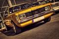 Картинка желтый, ретро, HDR, форд, FORD TAUNUS GT