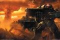 Картинка Starcraft 2, война, герои, город, оружие