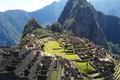 Картинка горы, развалины, peru, город, руины, machu picchu, инки, Перу, Мачу-Пикчу, небо