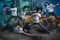 Картинка melodic, metal, deathcore, metalcore, металкор, группа, Danny Marino, the agonist, Alissa White-Gluz, Chris Kells, Pascal ...
