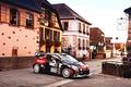 Картинка Город, Машина, DS3, Поворот, Черный, Люди, WRC, Rally, Спорт, Citroen, Ралли